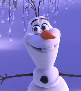 Olaf's funny grin