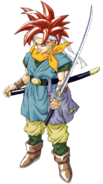 Chrono Trigger - Crono as he appears for the Playstation version