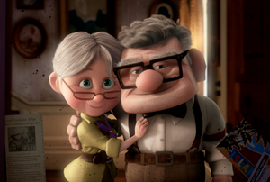 Elder carl and ellie