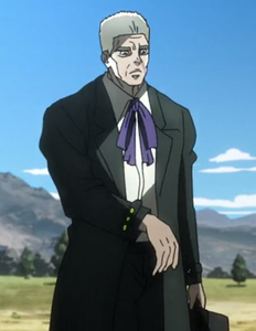 Old man Speedwagon