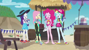 Pinkie Pie and friends laughing together EGDS16