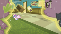 Twilight glares disappointedly at Flurry Heart S7E3