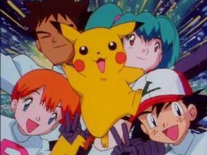 Ash & his friends dress up as Team Rocket