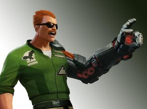 "Bionic Commando Rearmed 2 - Captain Nathan ""Rad"" Spencer"