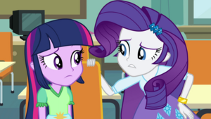 Rarity Well, it's a nice theory, darling