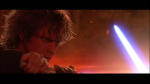 Vader swordplay