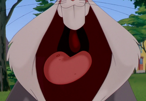 Bugs Bunny yelling