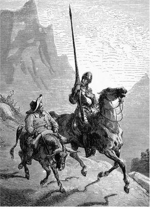 Don Quijote and Sancho Panza