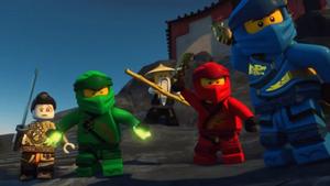 The Ninja and Faith ready for face the Oni