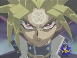 Yami Yugi (Atem) corrupted by the Orichalcos
