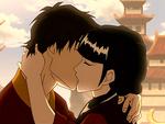 Zuko & Mai Kissing
