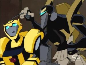 Bumblebee and Prowl (Nature Calls)
