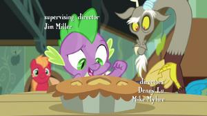 Spike bake the invitation inside S8E10