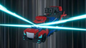 Optimus' Activator Vehicle Mode