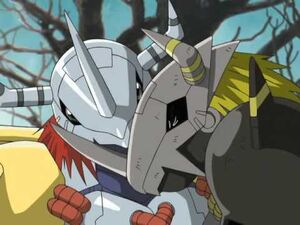 WarGreymon and BlackWarGreymon