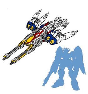 Gundam Wing Gundam Zero Bird Mode