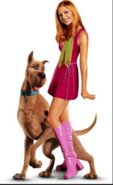 Live Action Daphne with Scooby