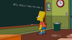 Simpsons mrs k
