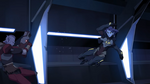 Acxa Beat a Galra Pirate