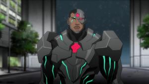 Cyborg DC Animated Movie