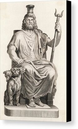 Hades-or-dis-in-greek-mythology-pluto-mary-evans-picture-library-canvas-print
