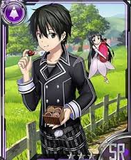 Kirito Nostrade White Day Card 3