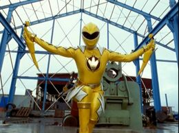 Yellow Dino Thunder Ranger