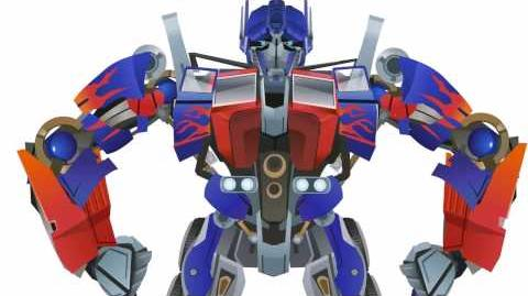 OPTIMUS Prime Transform - Short Flash Transformers Series