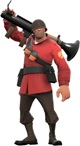 Red Soldier Fullbody