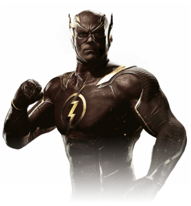 The flash injustice 2 render