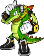 Vector the Crocodile - Sonic Channel