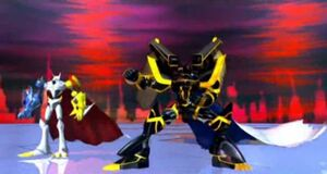 DIGIMON Alphamon 5