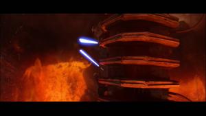 Darth Vader confined
