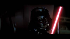 Darth Vader turns