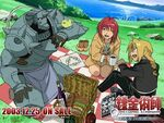 Full-metal-alchemist picnic