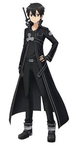 Sword Art Online Kirito Simple Holow Fragment Render