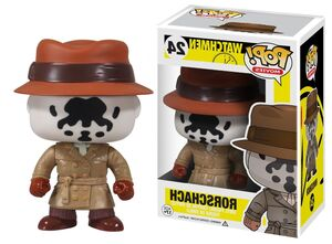 Funko POP Movies Watchmen Action Rorschach Figure
