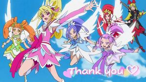 Glitter Force with Regina