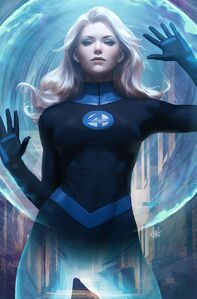 Invisible Woman Variant Textless