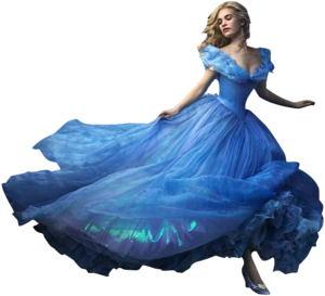 Lily james as cinderella full body png by nickelbackloverxoxox-d8fep2f