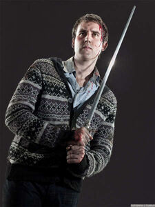 Neville Longbottom and the Sword of Godric Gryffindor