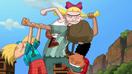 Arnold and his friends vs. La Sombra