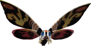 Godzilla the video game adult mothra by sonichedgehog2-d81dd3p