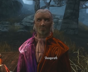 Sheogorath, Skyrim