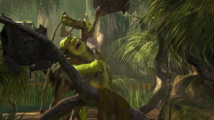 Shrek's Mud bath
