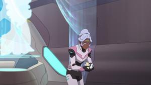 Allura Collecting the Space Mice
