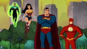 Justice League Harley Quinn TV Series 0001