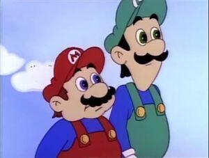 Luigi cartoon 4