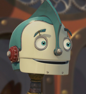 Rodney Copperbottom's endearing grin