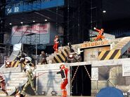 S.P.D. Fire Squad in Magiranger Stage Show